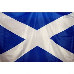 3ft x 2ft Fabric Scottish Saltire Scotland National Flag - Flags for Sale